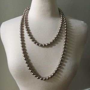 White House Black Market Faux Pearl Necklace